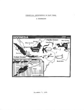 Indonesian intervention in East Timor