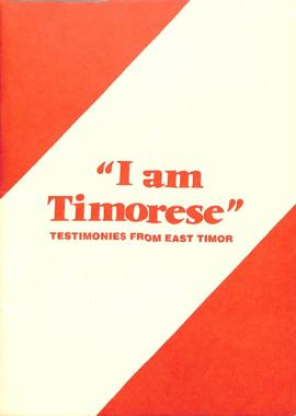 I am Timorese