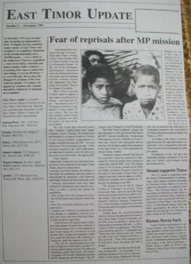 East Timor Update 1991-11