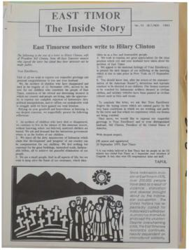 East Timor: The Inside Story 1993-10