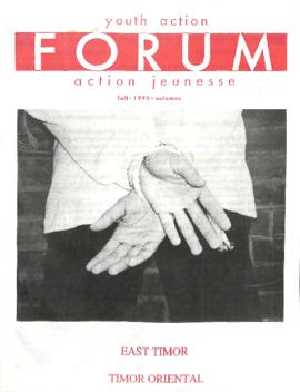 Youth Action Forum - East Timor (Fall 1995)