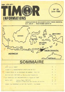 Timor Informations 1985-06