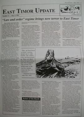 East Timor Update 1992-05