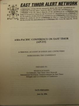Asia-Pacific Conference on East Timor