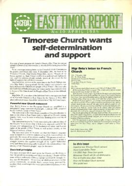 East Timor Report