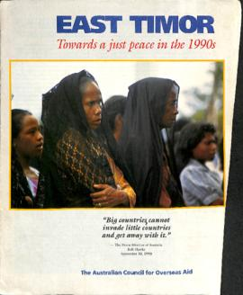 East Timor: Towards a just peace in the 1990s
