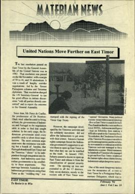 Matebian News (East Timor: To Resist is to Win) 1994-02