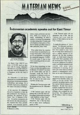 Matebian News (East Timor: To Resist is to Win) 1994-03