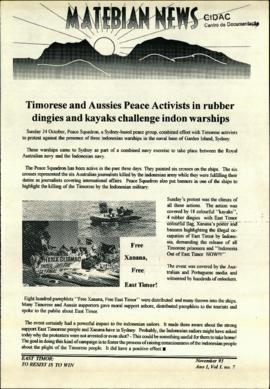 Matebian News (East Timor: To Resist is to Win) 1993-11