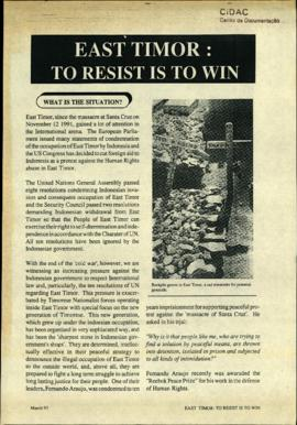 Matebian News (East Timor: To Resist is to Win) 1993-03
