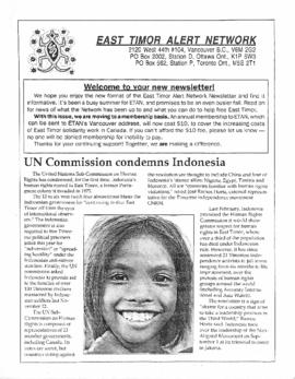 East Timor Alert Network Newsletter 1992-10