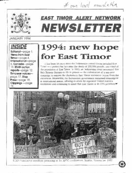 East Timor Alert Network Newsletter