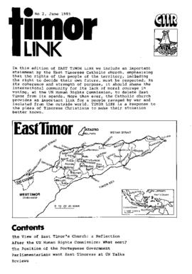 Timor Link Newsletter 1985-06