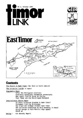 Timor Link Newsletter 1985-10