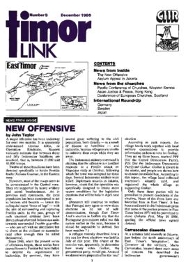 Timor Link Newsletter 1986-12